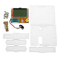 Geekcreit® LCR-T4 Mega328 Тестер транзистора Диодный триод Емкостный счетчик ESR с корпусом - 1TopShop