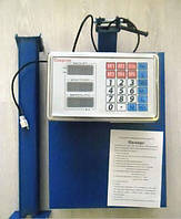 Весы товарные напольные электронные с платформой Спартак ACS 150 FOLD 30*40