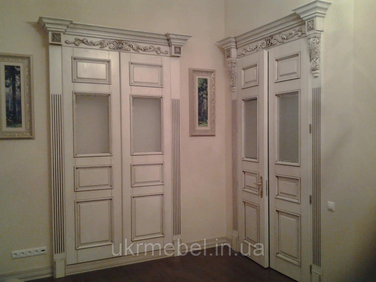 Изготовление деревянных дверей
