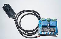 Электронный регулятор температуры и влажности HX-M452, фото 1