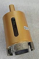 Алмазное сверло кольцевое по граниту, керамограниту 40x54x2,8(4S2,6x8x22)х25x10 под дрель, зажимной патрон