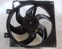 Диффузор радиатора Ваз 1118 в сборе пластик без кондиционера, фото 1