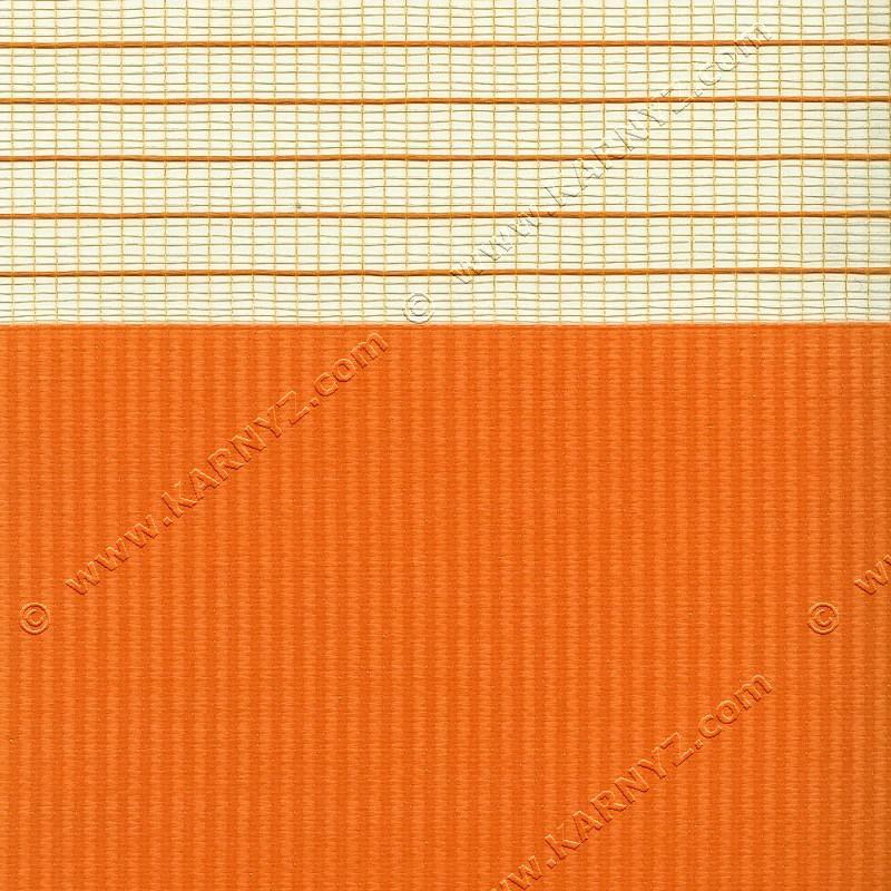 Рулонні штори День-Ніч Софт Z-661 помаранчевий апельсиновий