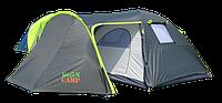 Палатка  двухслойная четырехместная 1009 GreenCamp