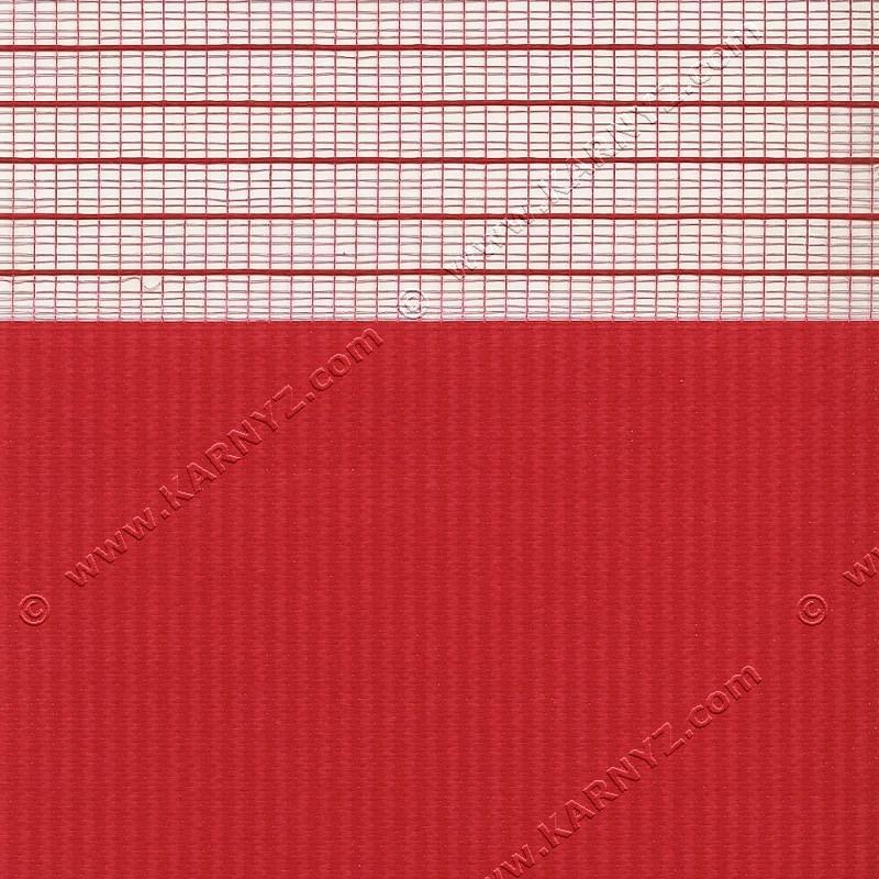 Рулонные шторы День-Ночь Софт Z-662 красный феррари