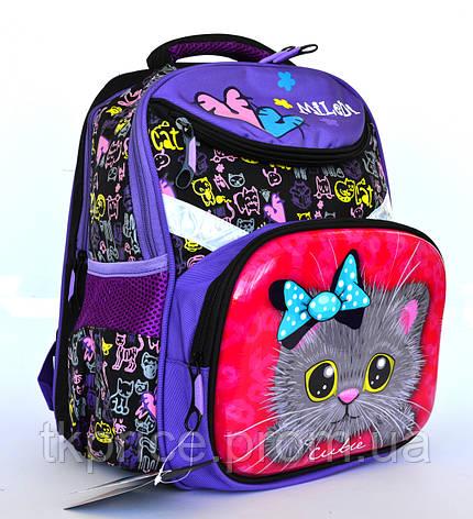 Качественный школьный рюкзак с ортопедической спинкой , фото 2