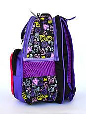 Качественный школьный рюкзак с ортопедической спинкой , фото 3