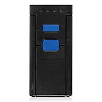 Мини Портативный беспроводной Bluetooth штрих-кода лазерный сканер для Apple IOS Android СКП