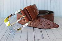Пояс Louis Vuitton ремень женский коричневый