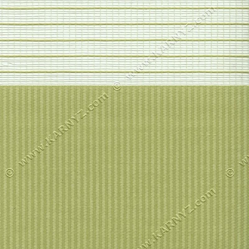 Рулонные шторы День-Ночь Софт Z-663 оливковый светлый