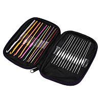 Honana WX-102 22pcs Набор многоцветные алюминиевого вязания Крючки Иглы Вязание Weave Craft Пряжа Швейные инструменты