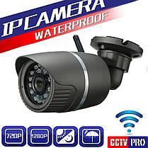 Водонепроницаемая HD 1280 * 720P 3.6mm камера Wifi CCTV цифровой видеокамеры Открытой безопасность-1TopShop, фото 2