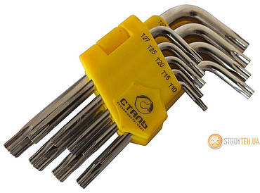Сталь 48104 Набор Г-образных ключей TORX