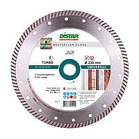 Диск (круг) алмазный по бетону 230мм Distar Turbo Universal