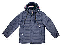 Куртка зимняя для мальчика Puros Poro PB17-602, В наличии, Синий, 152