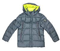 Куртка зимняя для мальчика Puros Poro PB17-608, В наличии, Синий, 146