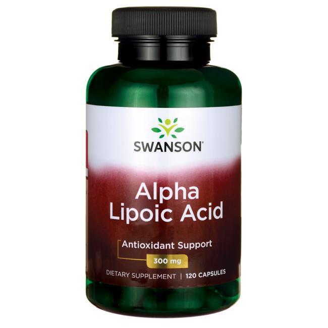 Альфа-липоевая кислота / Alpha Lipoic Acid, 300 мг 120 капсул