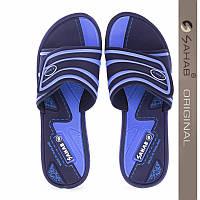 Шлепанцы SAHAB SV 09-17 женские синие. Оригинал