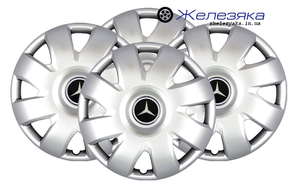Колпаки на колеса R15 SKS/SJS №311 Mercedes-Benz