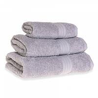 Махровое полотенце Grange, Серый (Сауна 90*150см), фото 1