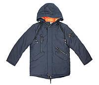Куртка зимняя для мальчика Puros Poro PB17-856, В наличии, Синий, 140