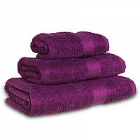 Махровое полотенце Grange, Слива (Сауна 90*150см), фото 1