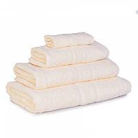Махровое полотенце Luxury, Крем (Лицо 50*80см), фото 1