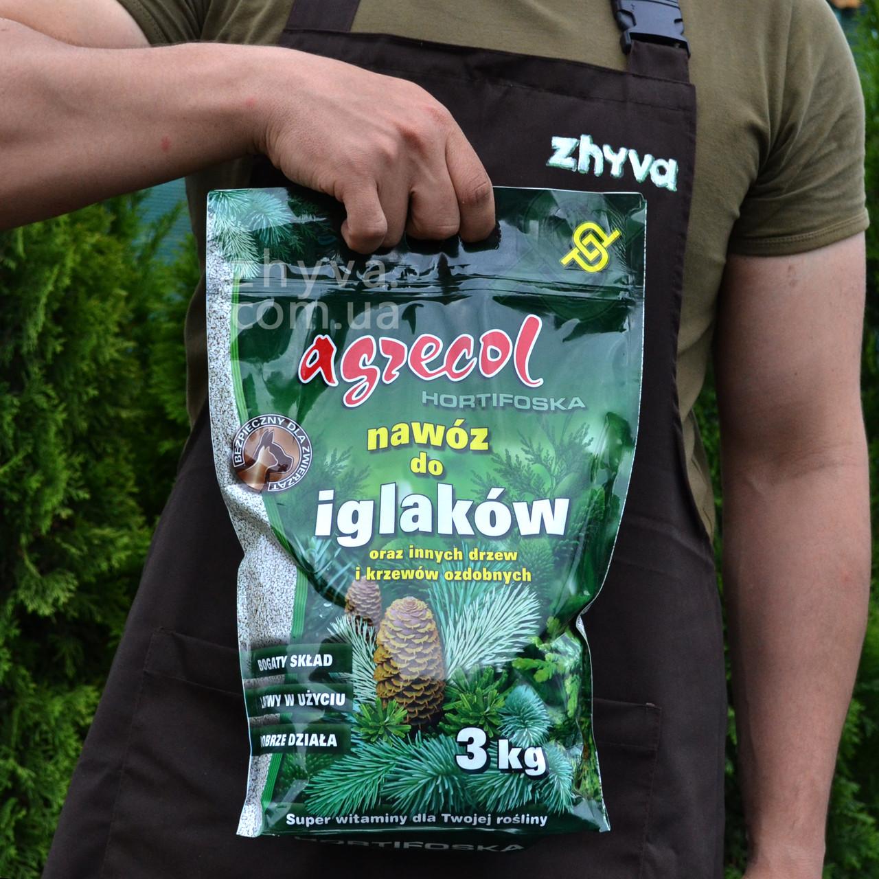 Добриво Agrecol Hortifoska для хвойних рослин 3кг