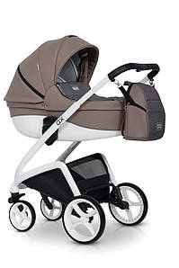 Детская универсальная коляска 2 в 1 Riko XD 02 Cappucino