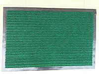 """Коврик на резиновой основе """"Полоса"""" зеленый 90 х 60, производство Китай"""