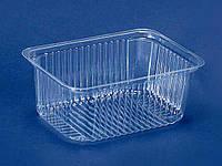 Контейнер пластиковий для салатів і напівфабрикатів ПС-160 (V500мл\143*103*58) (50 шт)
