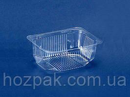 Контейнер пластиковый для салатов и полуфабрикатов ПС-182 (V150мл\117*84*30) (50 шт)