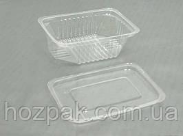 Соусник пластиковий прозорий ПС-190 (V100мл\83*60*35) (50 шт)