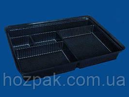 Упаковка для суши ПС-61ДЧ (27,5/19,5/40) с делениями (50 шт)