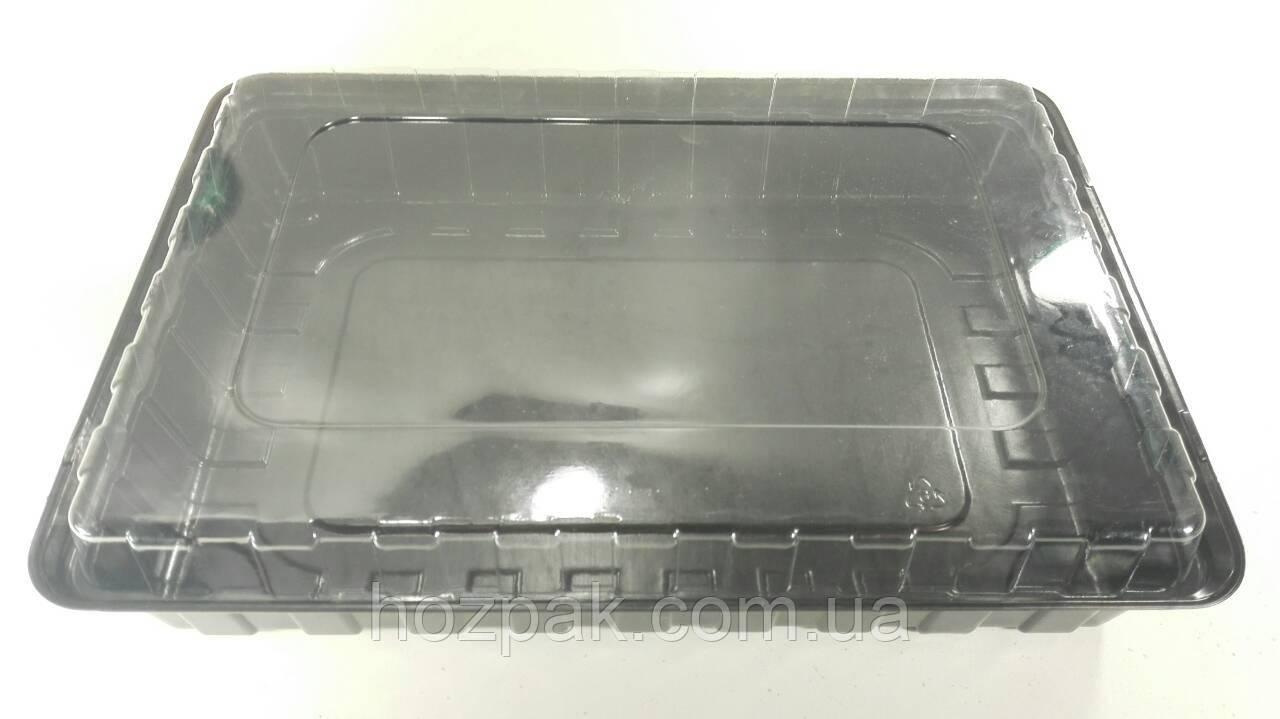 Кришка пластикова ПС-61для упаковці ПС-610ДБ/ПС-610ДЧ (50 шт)
