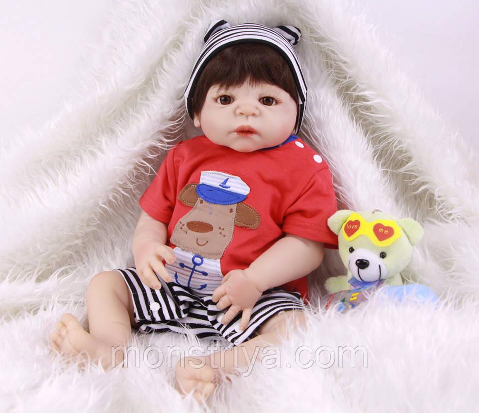 Кукла- реборн Мальчик полностью винил-силиконовый