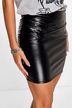 Новая юбка под кожу Boohoo, фото 3