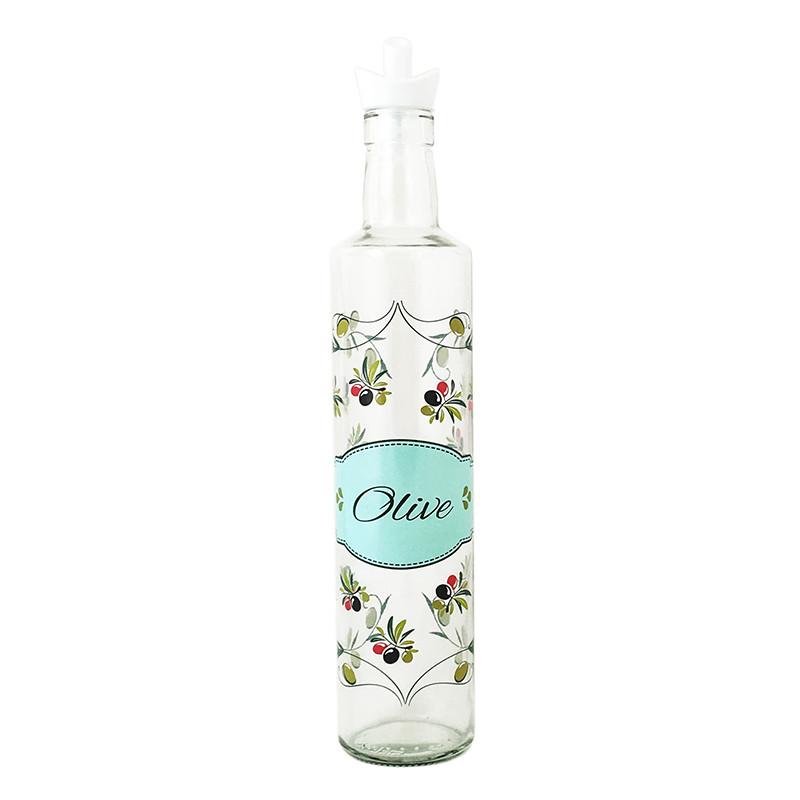 Бутылка для масла Олива 0,5л. с дозатором