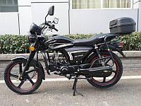 Мотоцикл HORNET ALPHA (Sport) (125 см. куб., чорний/мокрий асфальт)