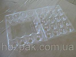 Пластикова упаковка під перепелині яйця ПС-111 (на20яиц) (50 шт)