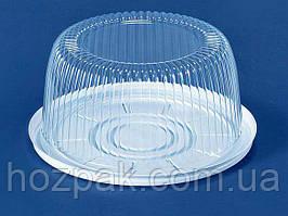 Упаковка з полістиролу для торта ПС-22 (V2100мл) Ф205*95 (200 шт)