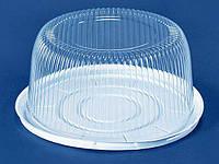 Упаковка з полістиролу для торта ПС-25 (V5300мл)Ф280*122 (200 шт)