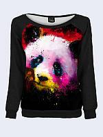 Свитшот женский Панда краски , фото 1