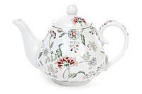 """Фарфоровый заварочный чайник """"Альпийский сад"""", 1 л."""