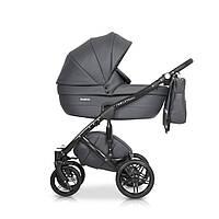 Детская универсальная коляска 2 в 1 Riko Naturo Ecco 04 Antracite