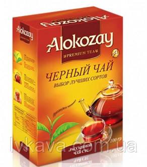 Чай черный  цейлонский крупнолистовой BOP1 Alokozay , 100 гр