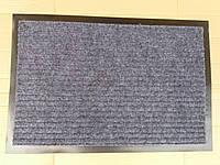 """Коврик на резиновой основе """"Полоса"""" серый 60 х 40, производство Китай"""