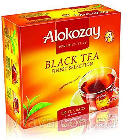 Чай черный цейлонский Alokozay, 100 пак