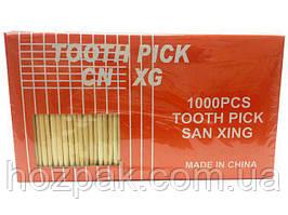 Зубочистка 1000шт Китай (1 пач)