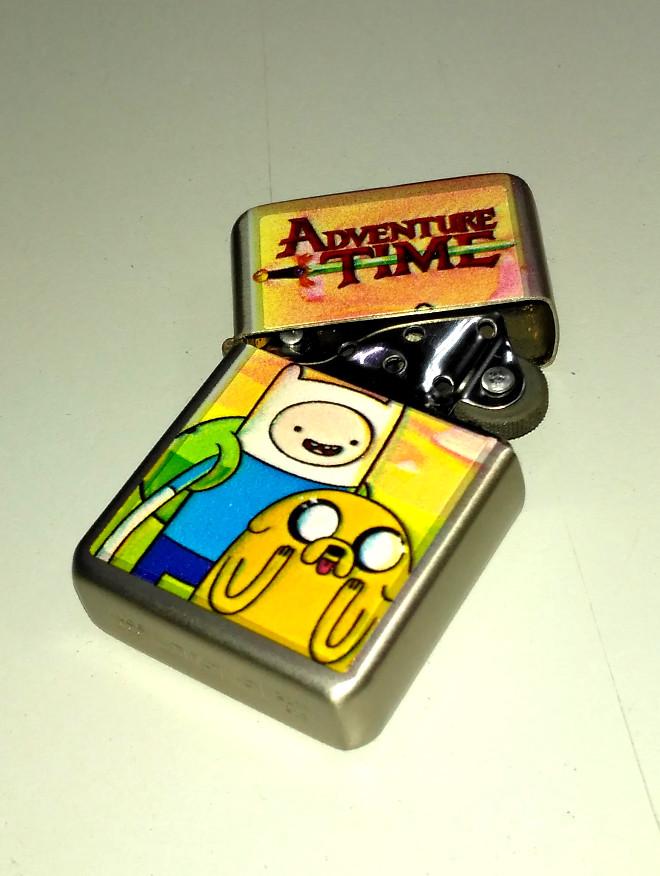Зажигалка ZIppo Adventure time